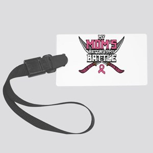 Breast Cancer Awareness Art For Large Luggage Tag