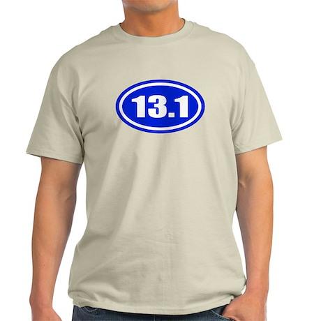 Blue 13.1 Half Marathon Light T-Shirt