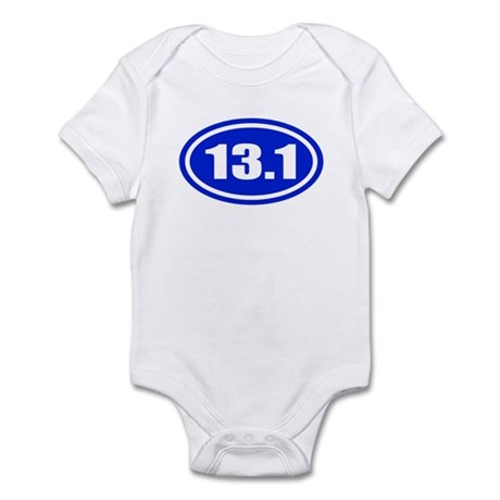 Blue 13.1 Half Marathon Infant Bodysuit