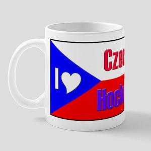 I love Czech Hockey Mug