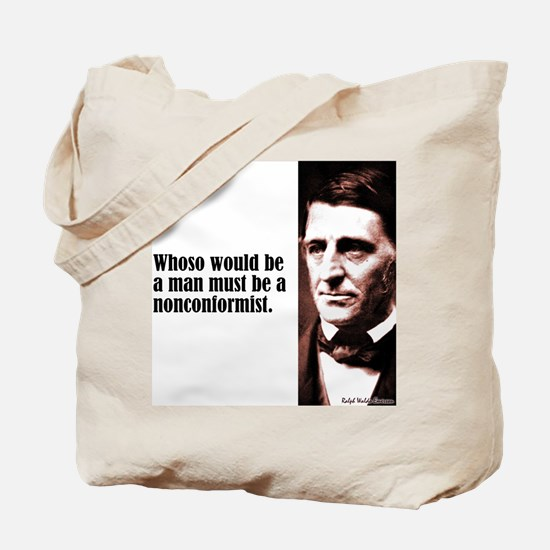 "Emerson ""Nonconformist"" Tote Bag"