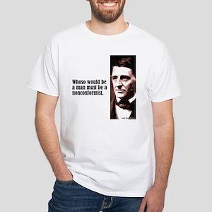 """Emerson """"Nonconformist"""" White T-Shirt"""