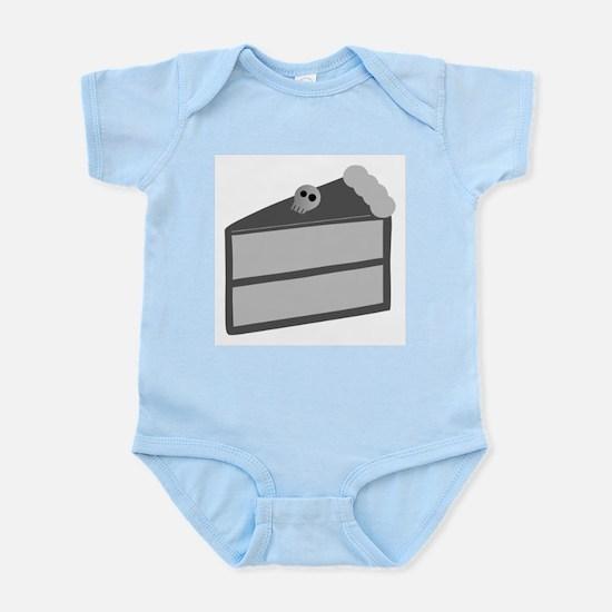 Gloomy Death Cake Infant Bodysuit