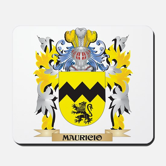 Mauricio Coat of Arms - Family Crest Mousepad
