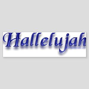 Hallelujah Bumper Sticker