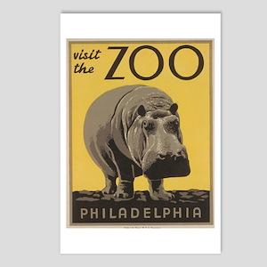 Philadelphia Zoo Postcards (Package of 8)