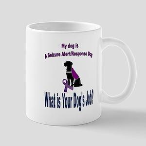 Seizure alert service dog Mugs