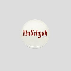 Hallelujah Mini Button