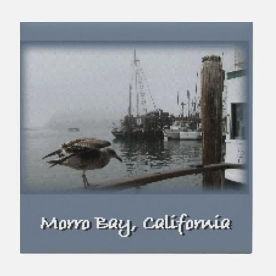 Morro Bay CA Tile Coaster