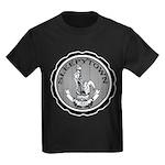 Town Seal Kids Dark T-Shirt