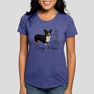 Cardigan Corgi Women's Dark T-Shirt