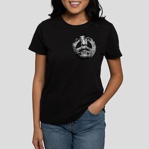 Obama Peace Sign Women's Dark T-Shirt