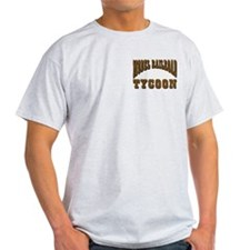trains -Ash Grey T-Shirt - Model RR Tycoon