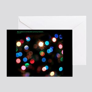 Infinite Lights Note Card