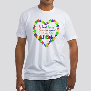Autism Heart Fitted T-Shirt