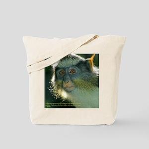 Monkey Wise Tote Bag