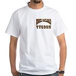 Train / Railroad -White T-Shirt - Model RR Tycoon