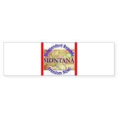 Montana-3 Bumper Sticker (10 pk)