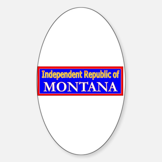 Montana-2 Oval Decal