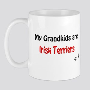 Irish Terrier Grandkids Mug