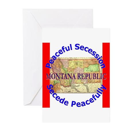 Montana-1 Greeting Cards (Pk of 10)
