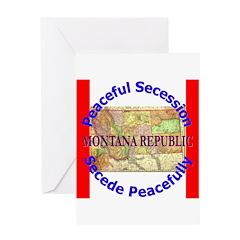 Montana-1 Greeting Card