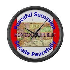 Montana-1 Large Wall Clock