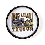 Train -Wall Clock - Model RR Tycoon