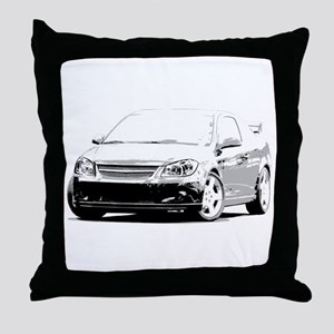 Cobalt SS Throw Pillow