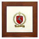 LETRANGE Family Crest Framed Tile
