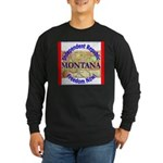 Montana-3 Long Sleeve Dark T-Shirt
