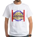 Montana-3 White T-Shirt
