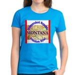 Montana-3 Women's Dark T-Shirt