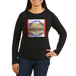 Montana-3 Women's Long Sleeve Dark T-Shirt