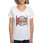 Montana-3 Women's V-Neck T-Shirt