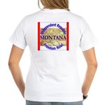 Montana-3 Women's V-Neck T-Shirt