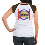 Montana-3 Women's Cap Sleeve T-Shirt