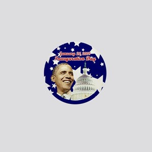 Obama inauguration Mini Button