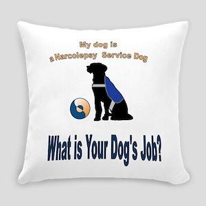 narcolepsy service dog Everyday Pillow
