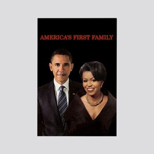 first family Rectangle Magnet