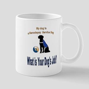 narcolepsy service dog Mugs