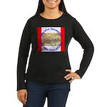 Montana-1 Women's Long Sleeve Dark T-Shirt