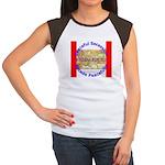 Montana-1 Women's Cap Sleeve T-Shirt
