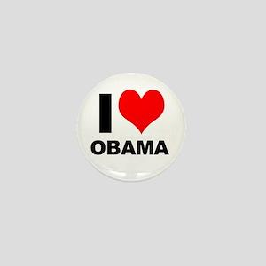 """I """"Heart"""" (Love) Obama! Mini Button"""