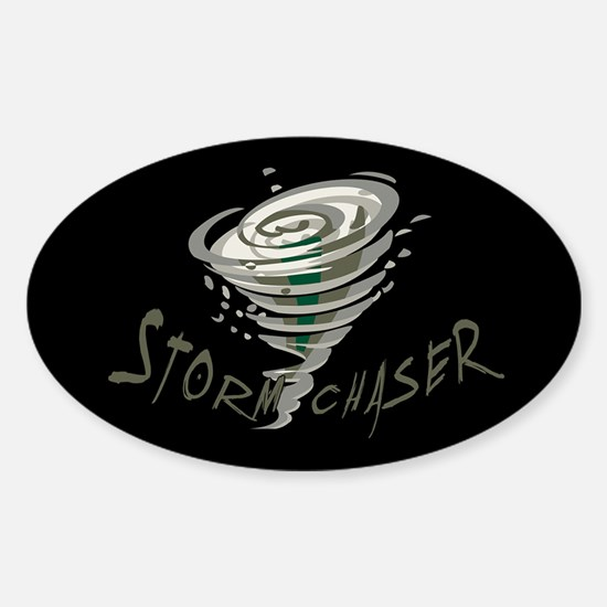 Storm Chaser 2 Oval Decal