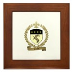 LEVRON Family Crest Framed Tile
