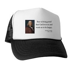Benjamin Franklin 8 Trucker Hat