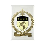 LEVRON Family Crest Rectangle Magnet