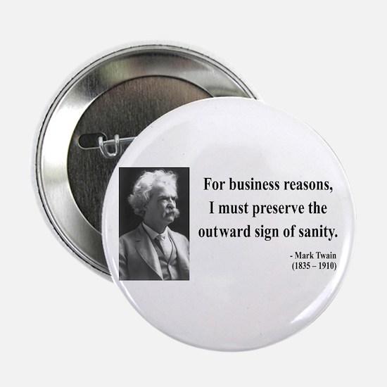 """Mark Twain 26 2.25"""" Button"""