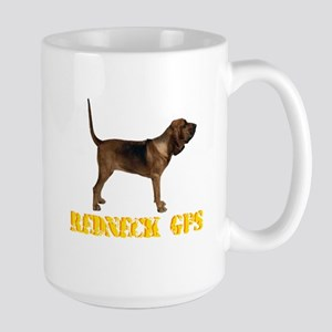 Redneck GPS Large Mug